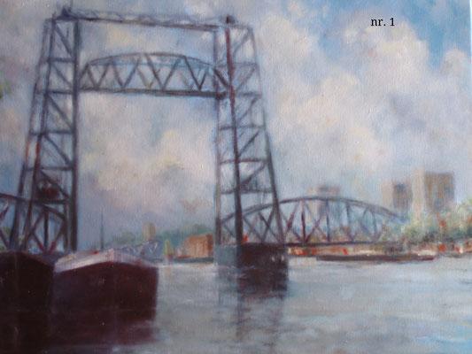 nr. 1 Rotterdam, de Hefbrug.