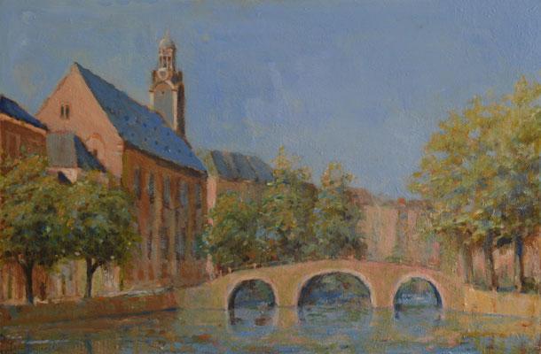 Leiden, Academiegebouw aan het Rapenburg