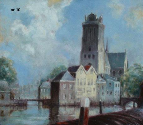 nr. 10 Grote Kerk met Bomkade