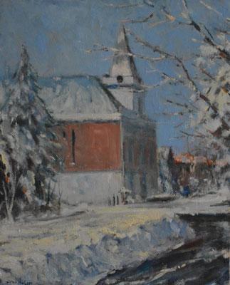 Oude gemeentehuis van Dubbeldam. Verkocht.
