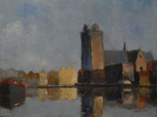 Grote Kerk met Kalkhaven