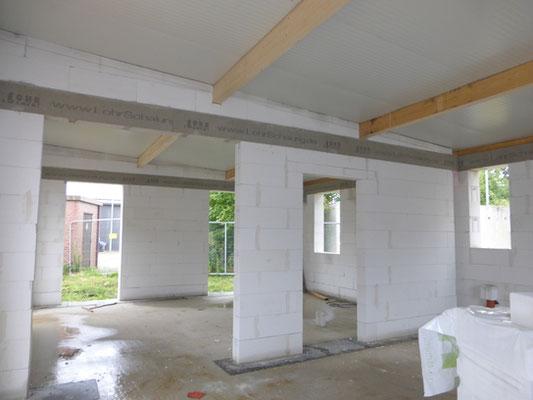 Das Gemeinschaftshaus mit seinen zwei Räumen