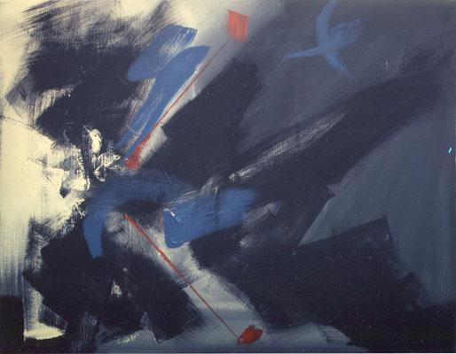 "Corine_S_Congiu-1988-Acrylique sur toile-116x89 (3) : Martin Hoffman :"" Astuce non décombrée"""