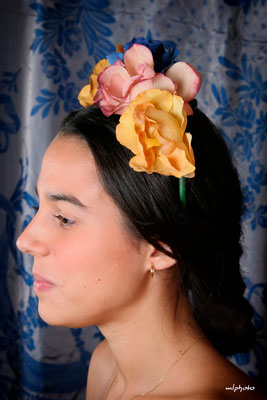 Esta foto me recuerda a Frida Kahlo.