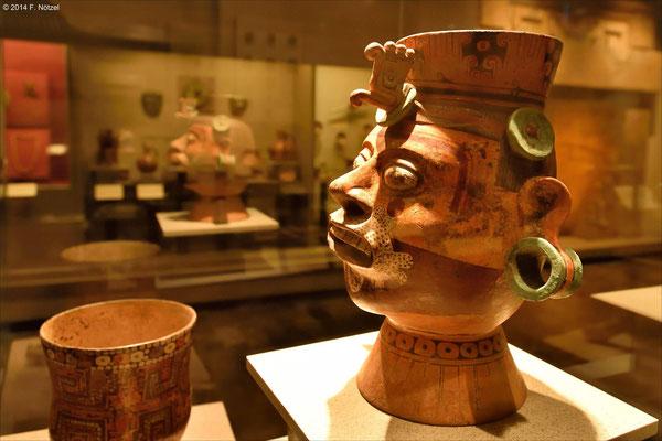 Weihrauchschale (anthropologisches Museum von Mexiko-Stadt)