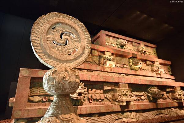 anthropologisches Museum von Mexiko-Stadt