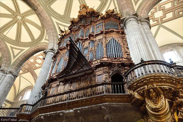 Kathedrale von Mexiko-City
