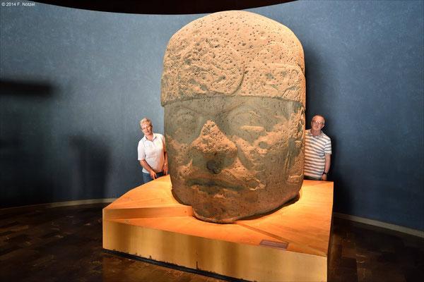 Relief (anthropologisches Museum von Mexiko-Stadt)