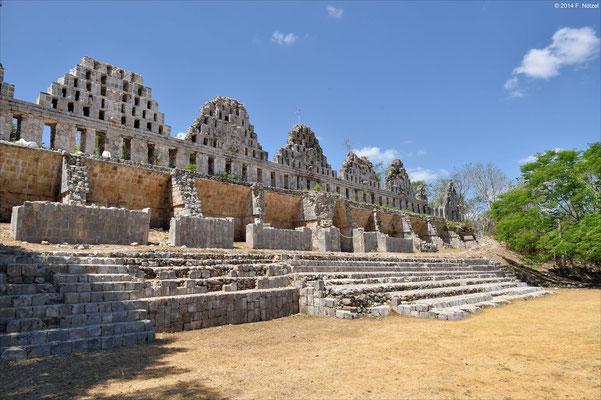 archäologische Stätte von Uxmal