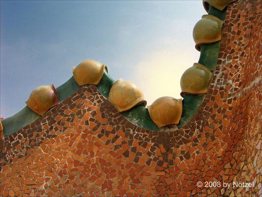 Detail, Barcelona, Gaudi-Stil