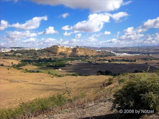 weiße Dörfer an der Costa del Sol