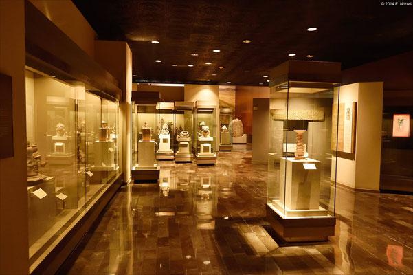 im anthropologischen Museum von Mexiko-Stadt