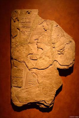 Darstellung des Regengottes (anthropologisches Museum von Mexiko-Stadt)