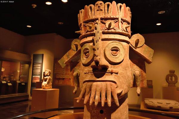 Wassergott (anthropologisches Museum von Mexiko-Stadt)