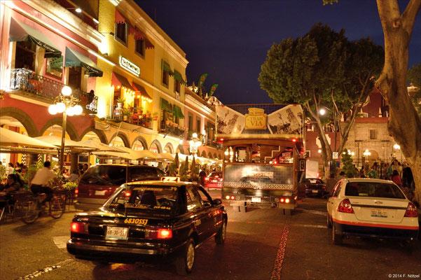 Abendstimmung in Puebla