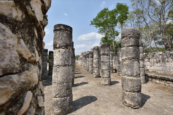 archäologische Stätte von Chitzen Itza