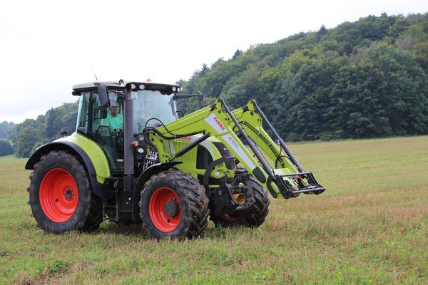 Traktorfahren für groß und klein