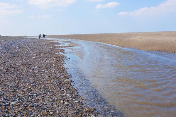 Le Chenal de la Baie au Hourdel