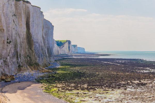 Le début des falaises de Normandie à Ault