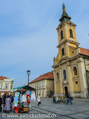 Grosser Platz in Zemun.