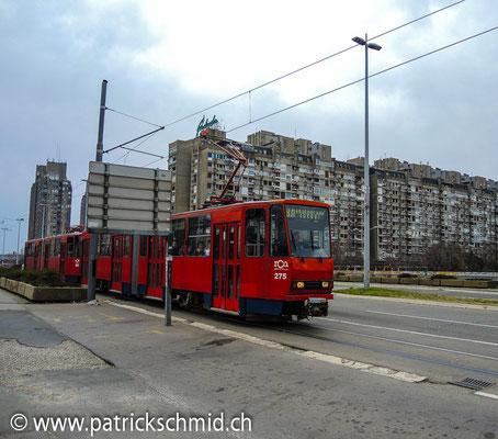 Novi Beograd (Neu Belgrad).