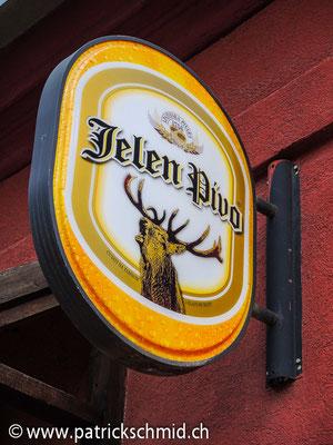 Serbisches Bier.