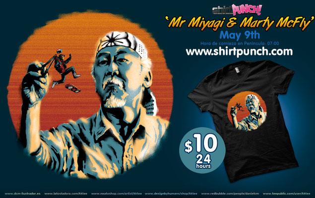 Mr.Miyagi & Marty McFly