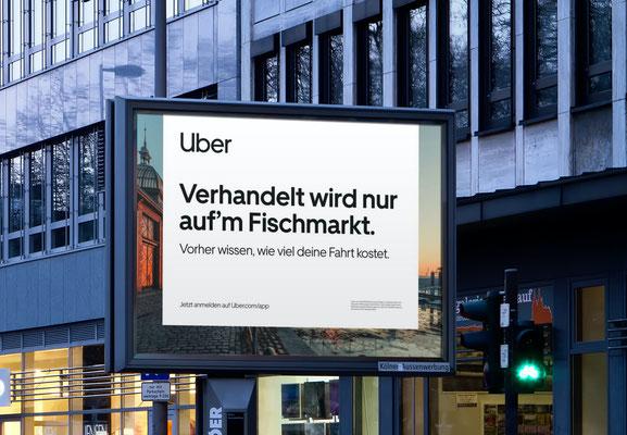 """Uber """"Launchkampagne Hamburg"""""""