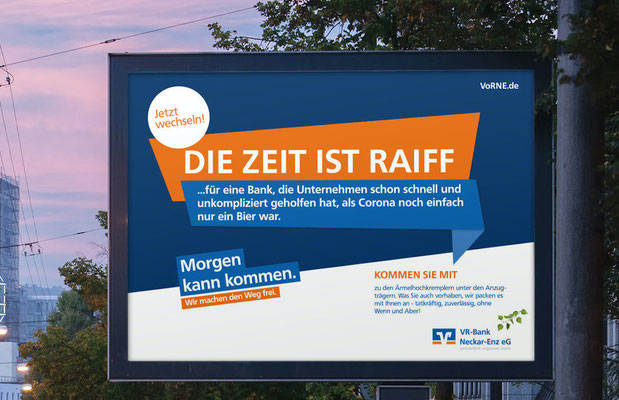 Volksbanken-Raiffeisenbanken Wechselkampagne