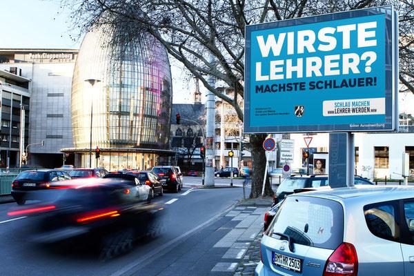 """NRW """"Schlau machen, Lehrer werden"""""""