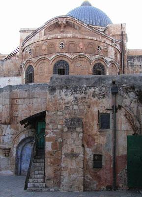 Grabeskirche in Jerusalem