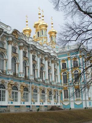 Sommerpalast in St. Petersbirg (Russland)
