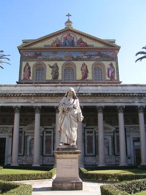 Kirche San Paolo fuori le mura in Rom (Italien)