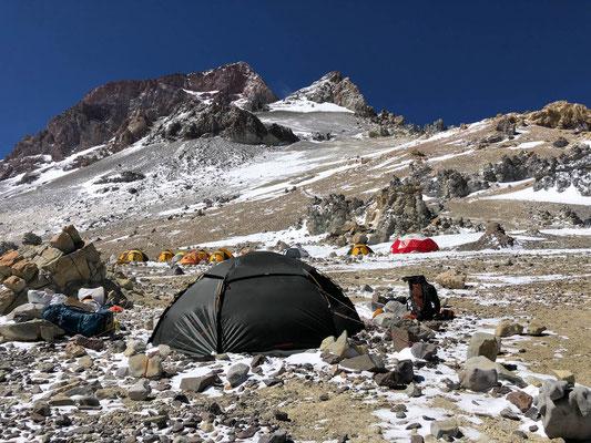 Camp 3 Colera at 6000m