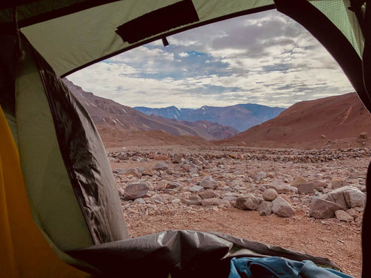 Good morning from Aconcagua base camp