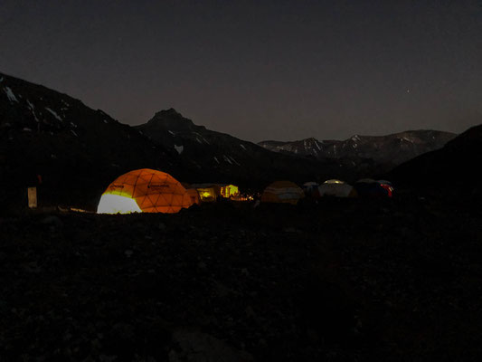 The biggest dome in base camp