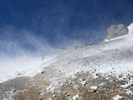 El viento blanco, Aconcagua is known for this!