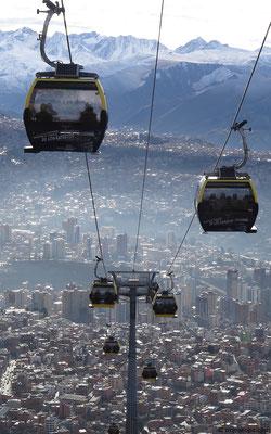 LaPaz-Alto cable car