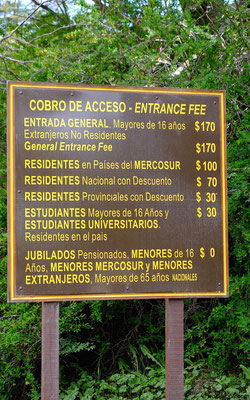 Argentinas National parc price policy ....