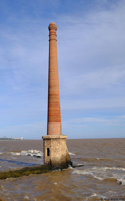chimney in the sea