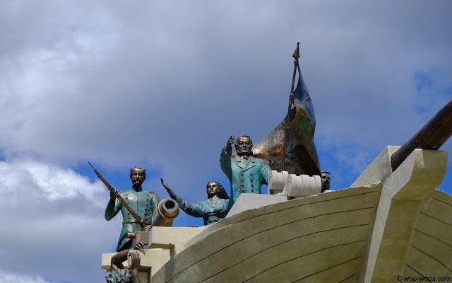 Punta Arenas Monument