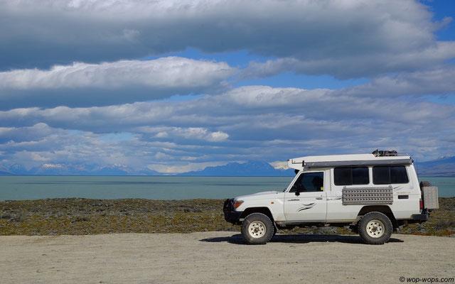 Prissy on Lago Argentina