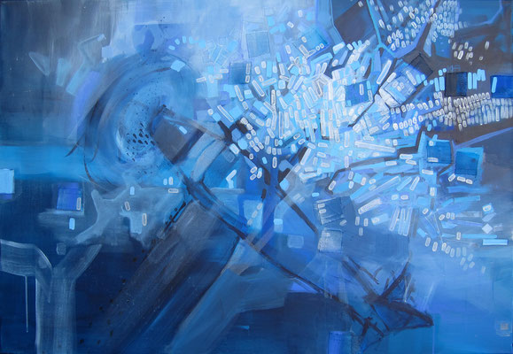 BUT MY MIND WAS SOMEWHERE ELSE 07/2013 90X130CM