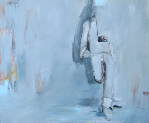 YOU ARE TOURIST II 04/2012 100X100CM---SOLD