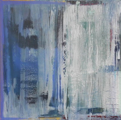 GREY AND BLUE 03/2016 80X80CM