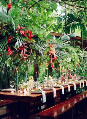Fleuriste Réunion décoration mariage