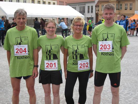 """Mixedteam """"900 Jahre Köthen"""""""