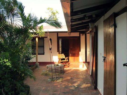 Patio interno Casa Loma