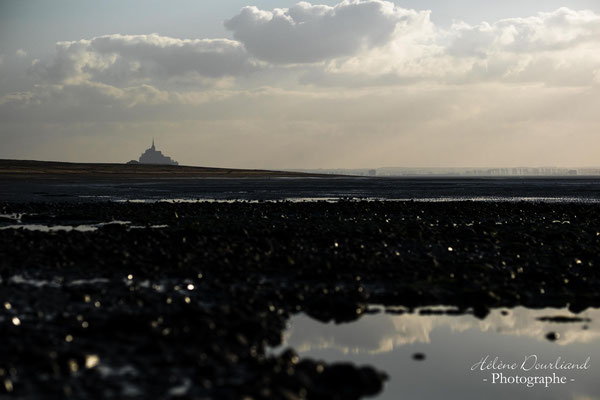 photo paysage du mont st michel en normandie