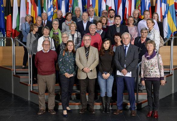 Besuch der Europa Union Wiesbaden am 5. Oktober 2017.